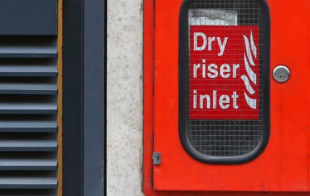 Dry-Riser-Inlet